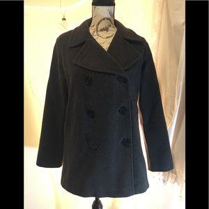VINTAGE J. Percy wool pea coat.  Size 4